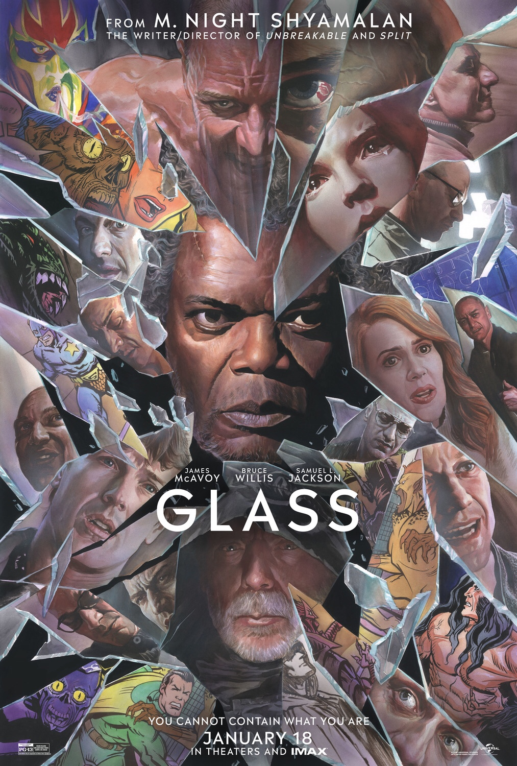 """Glass"""" Is M  Night Shyamalan At His Most Fragile – The Moya View"""